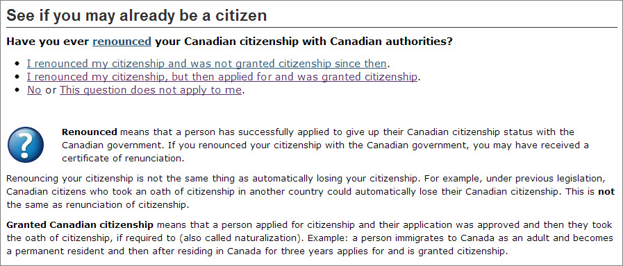 canadian citizenship Q1