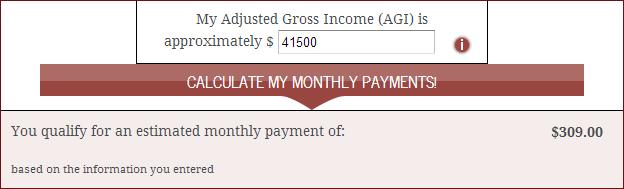 Income data