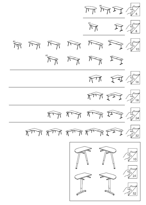 ikea galant desk assembly instructions